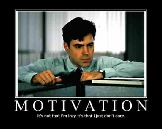 Motivation - REASONS WHY EMPLOYEES FEEL DE-MOTIVATED