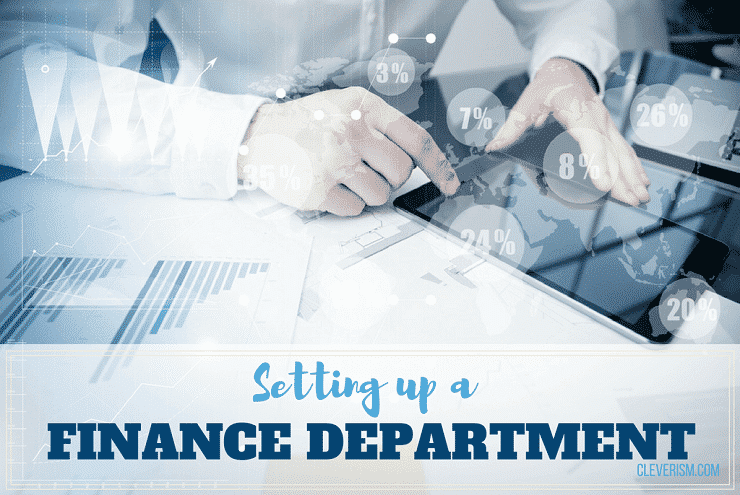 Setting up a Finance Department