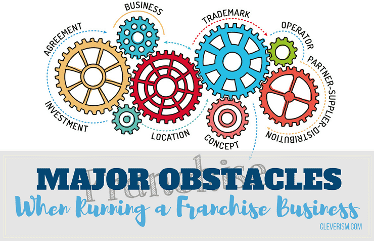 7 Major Obstacles when Running a Franchise Business