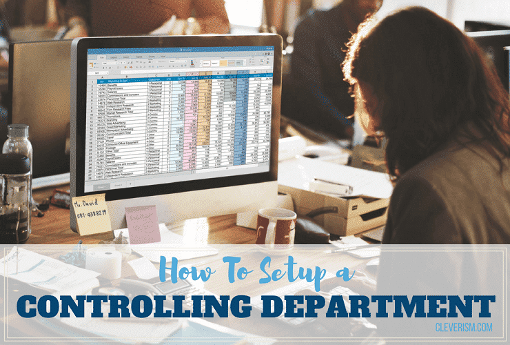 How to Setup a Controlling Department
