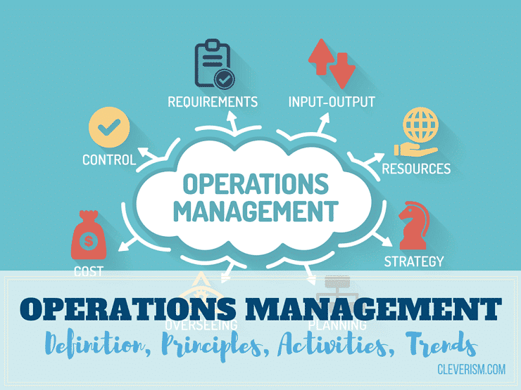 Operations Management Definition Principles Activities Trends Cleverism