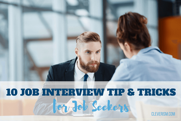 10 Job Interview Tips and Tricks for Job Seekers