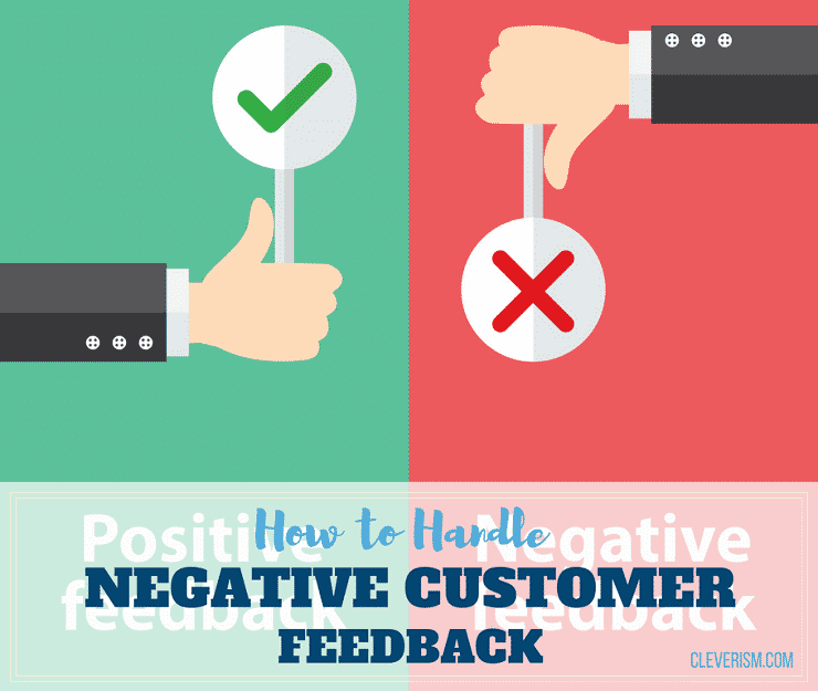 How to Handle Negative Customer Feedback