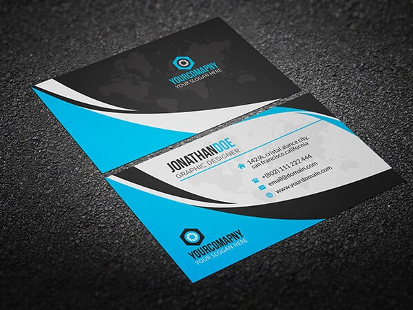 75 Free Business Card Templates That Are Stunning Beautiful Cleverism