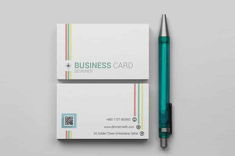 60-colorful-line-business-card-template