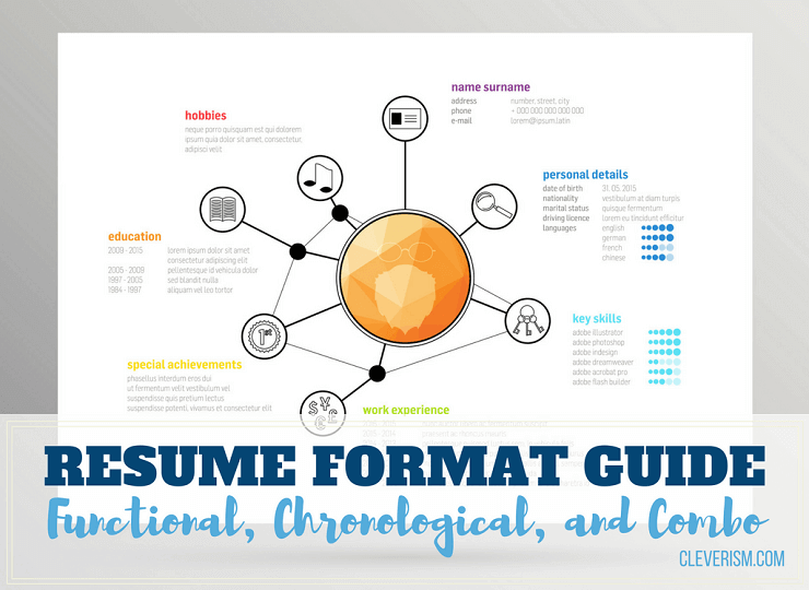 Resume Format Guide: Functional, Chronological, and Combo