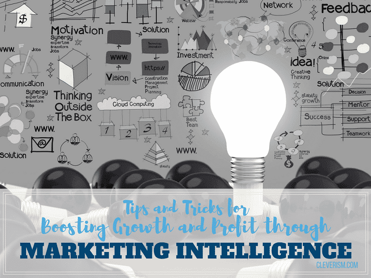 Tips and Tricks for Boosting Growth and Profit through Marketing Intelligence