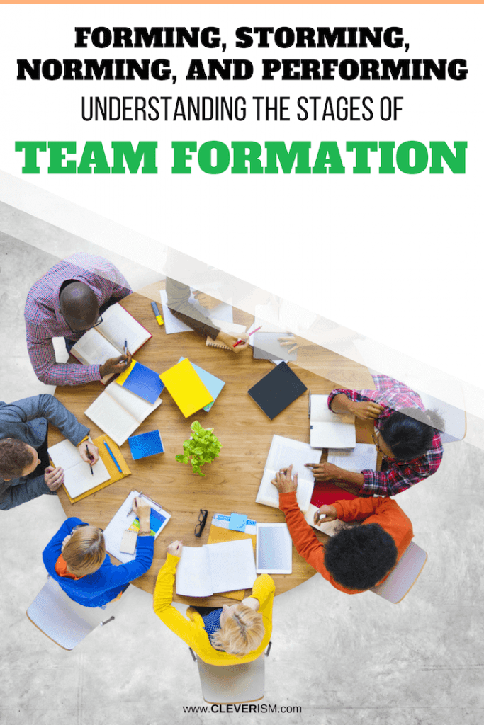 Forming, Storming, Norming and Performing: Understanding the Stages of Team Formation