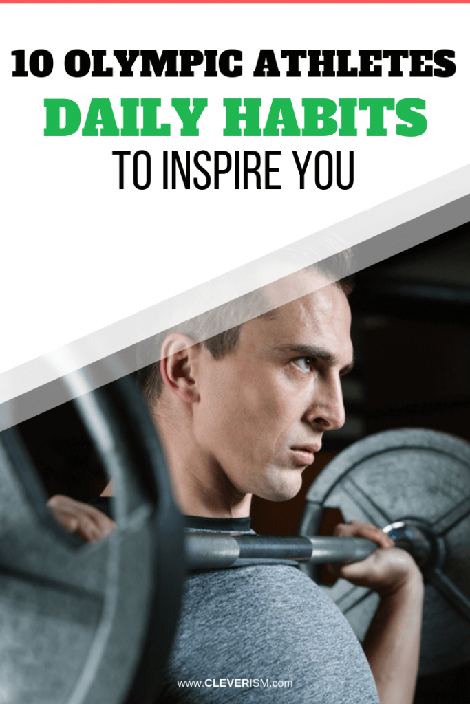 10 Olympic Athletes' Daily Habits to Inspire You