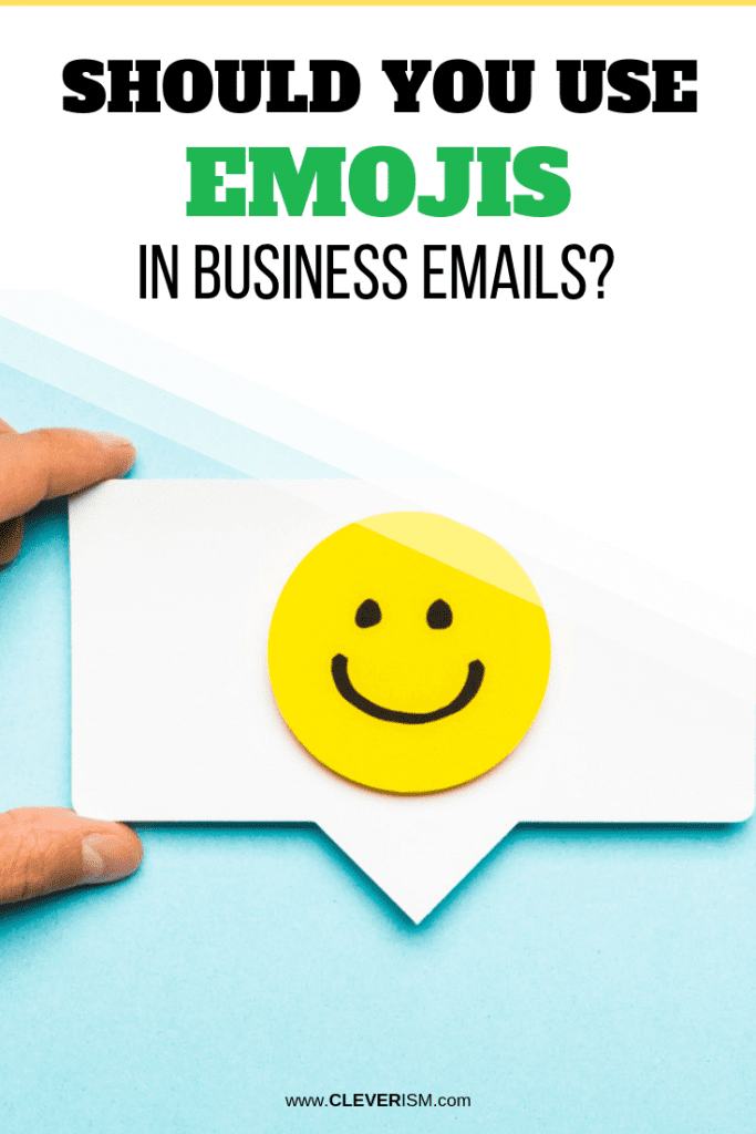 Should You Use Emojis In Business Emails?