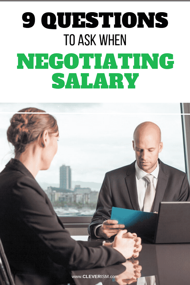 9 Questions to Ask When Negotiating Salary