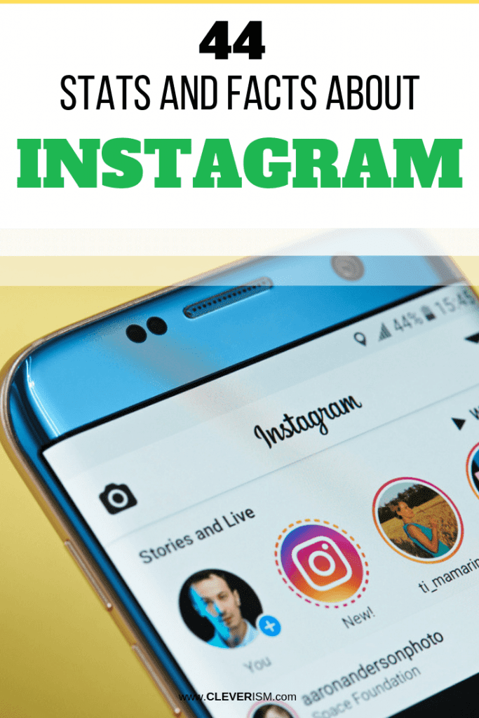 44 Stats and Facts About Instagram