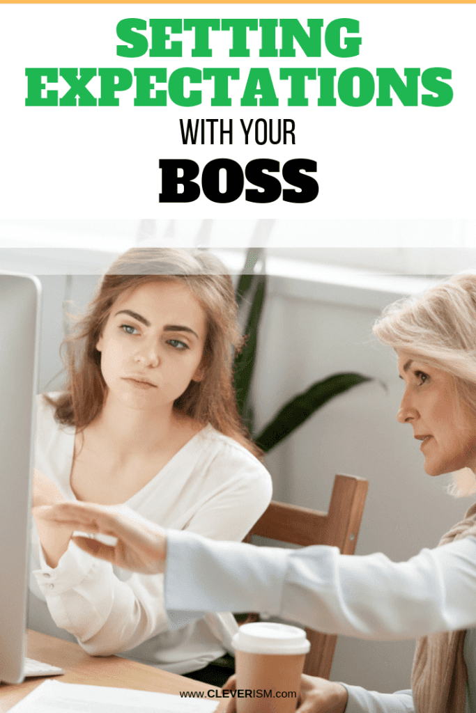 Setting Expectations With Your Boss