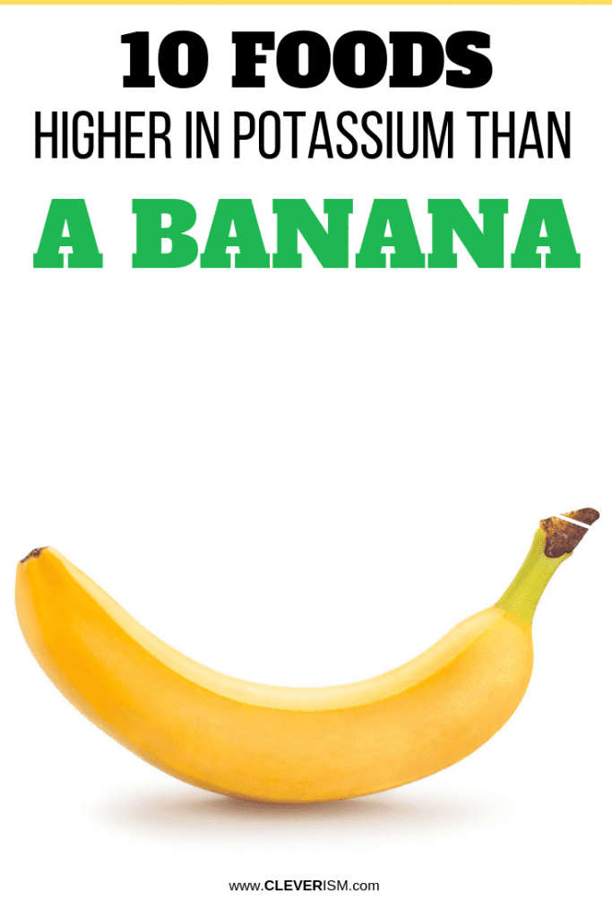 10 Foods Higher in Potassium Than a Banana