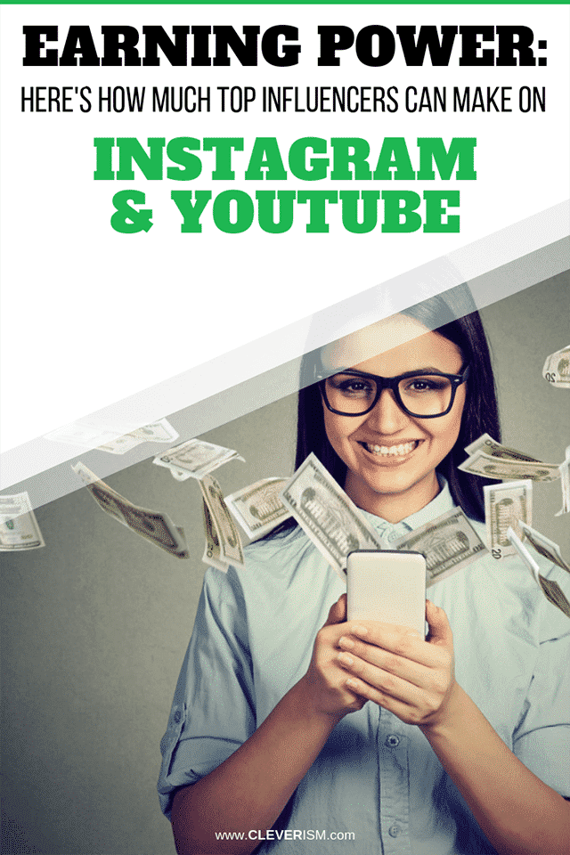 Earning Power: Here's How Much Top Influencers Can Make on Instagram and YouTube