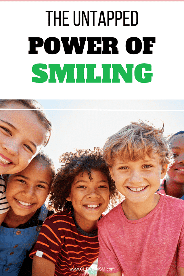 The Untapped Power of Smiling