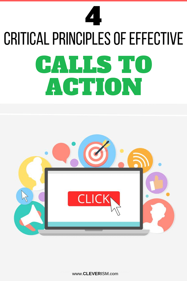 4 Critical Principles of Effective Calls to Action