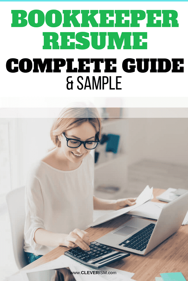 Bookkeeper Resume: Sample and Complete Guide