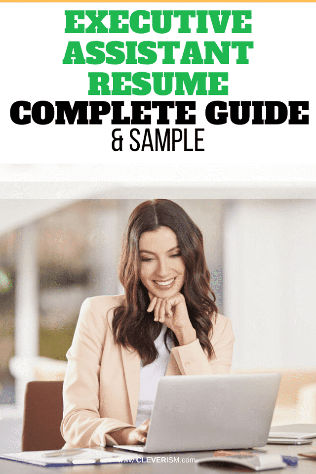 Executive Assistant Resume: Sample & Complete Guide