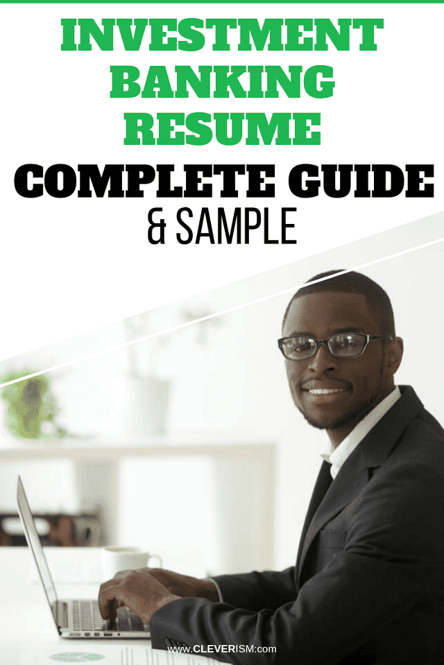 Investment Banking Resume: Sample & Complete Guide