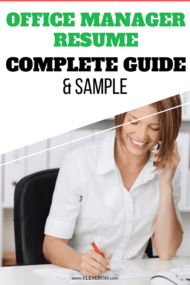 Office Manager Resume: Sample & Complete Guide