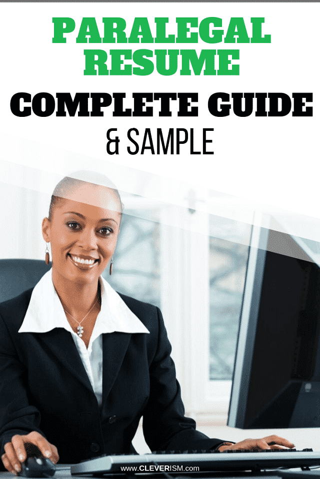 Paralegal Resume: Sample & Complete Guide