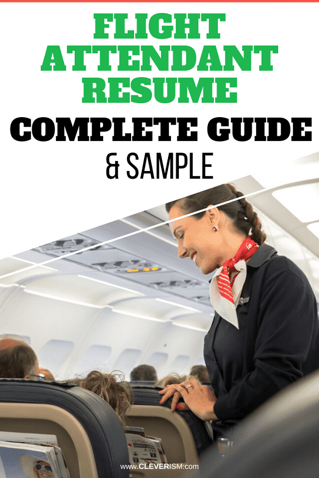 Flight Attendant Resume: Sample and Complete Guide