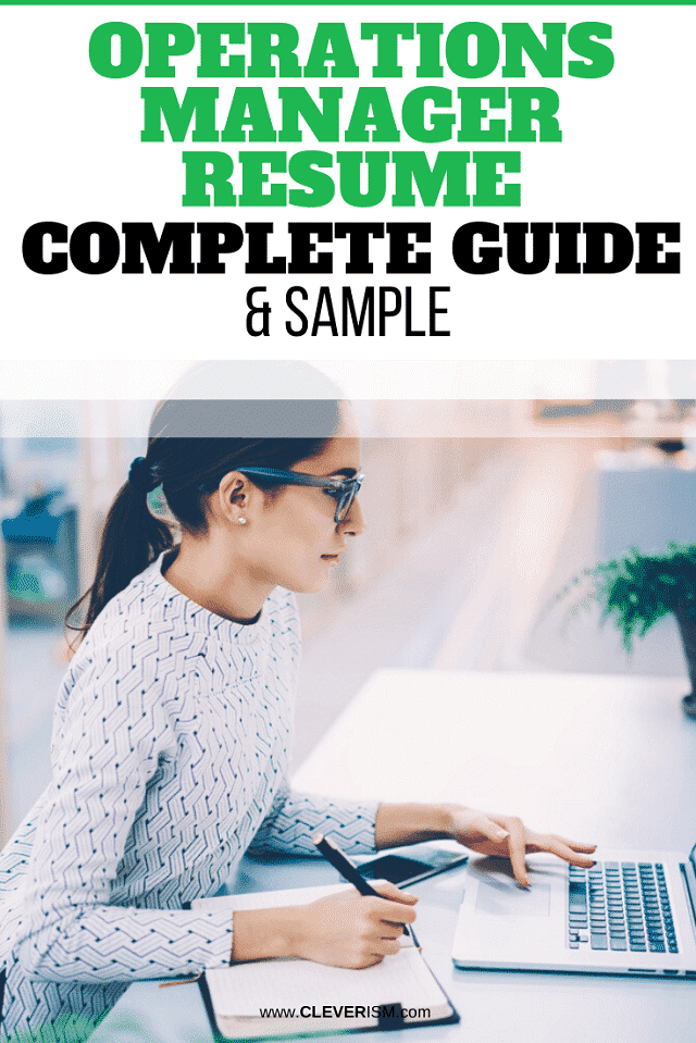 Operations Manager Resume – Samples and Complete Guide