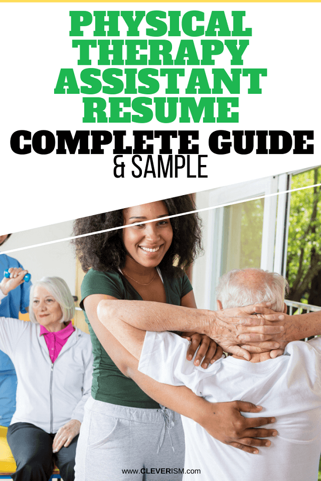 Physical Therapist Assistant Resume: Sample & Complete Guide