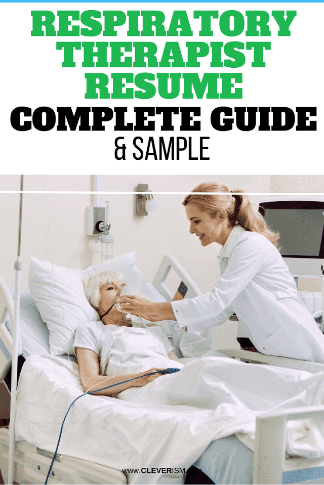 Respiratory Therapist Resume: Sample And Complete Guide