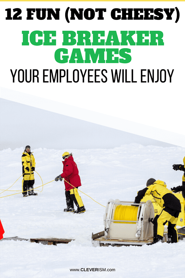 12 Fun (Not Cheesy) Ice Breaker Games Your Employees Will Enjoy
