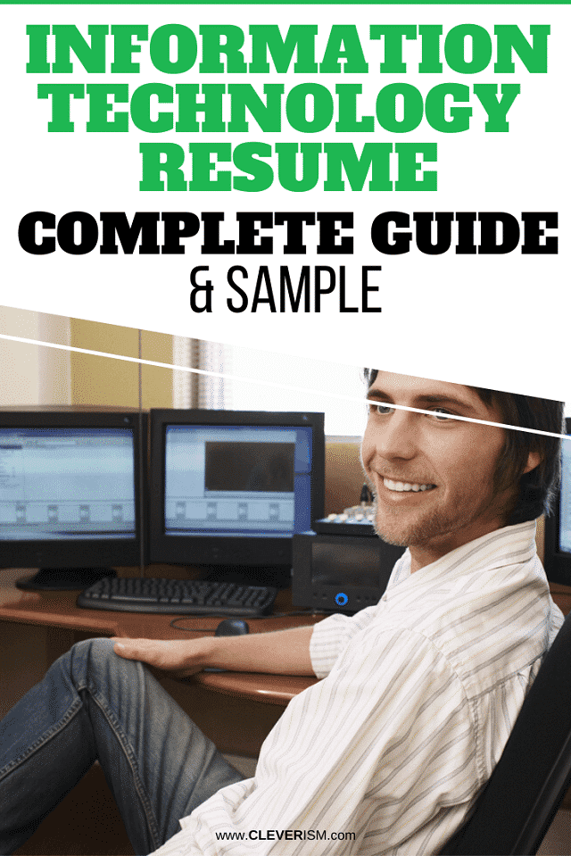 Information Technology Resume: Sample and Complete Guide