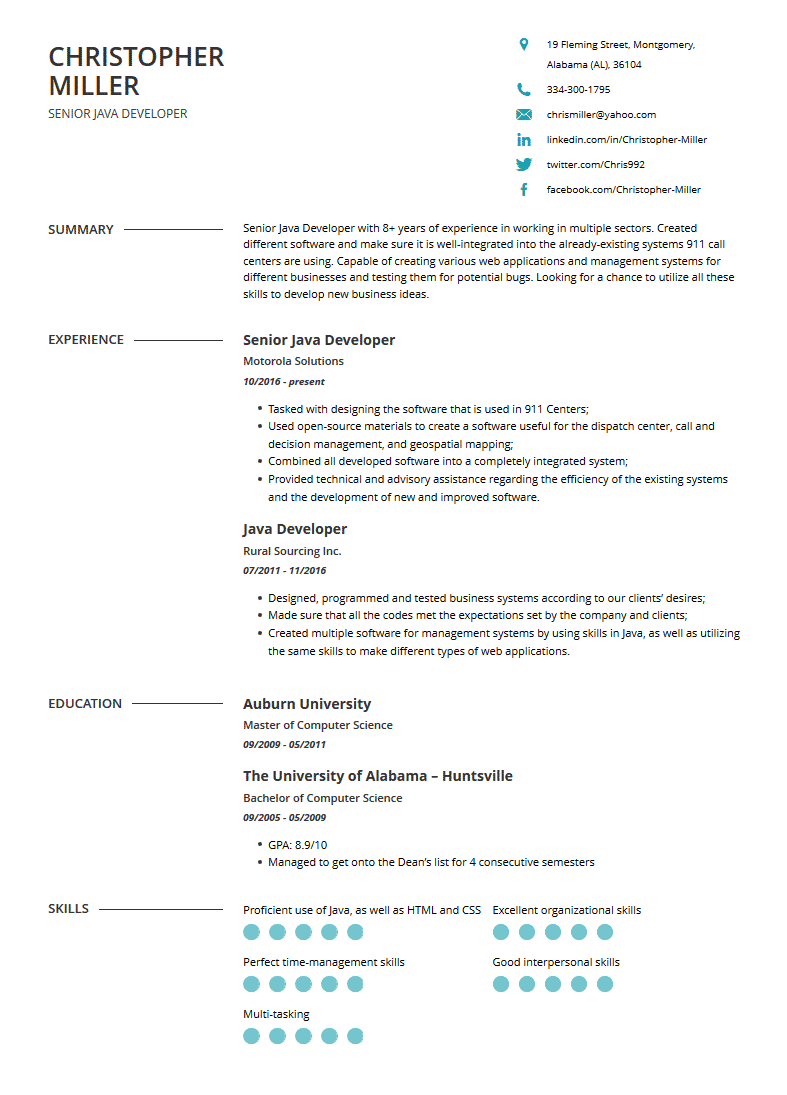 Short Cover Letter For Java Developer Perfect Collection Most Excellent