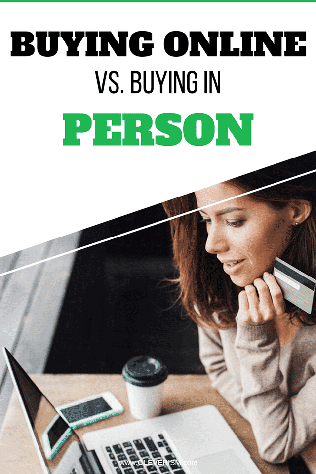 Buying Online Vs. Buying in Person