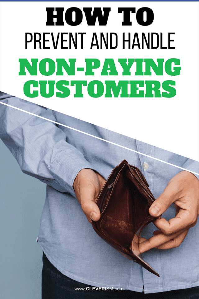 How to Prevent and Handle Non-Paying Customers