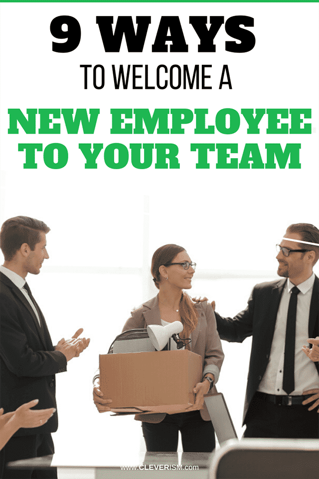 9 Ways to Welcome a New Employee to Your Team