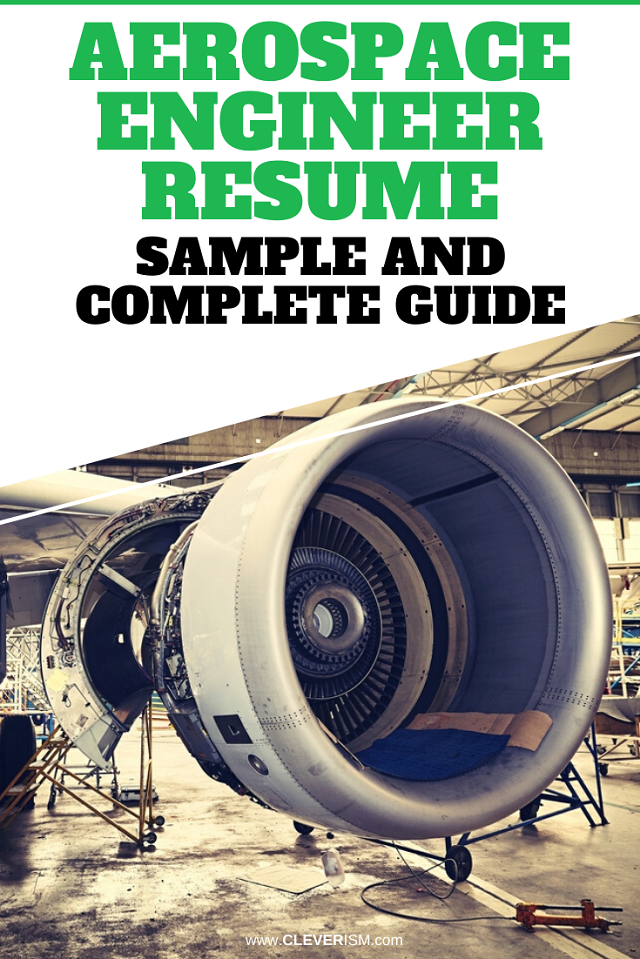 Aerospace Engineer Resume: Examples, Template, and Resume Tips