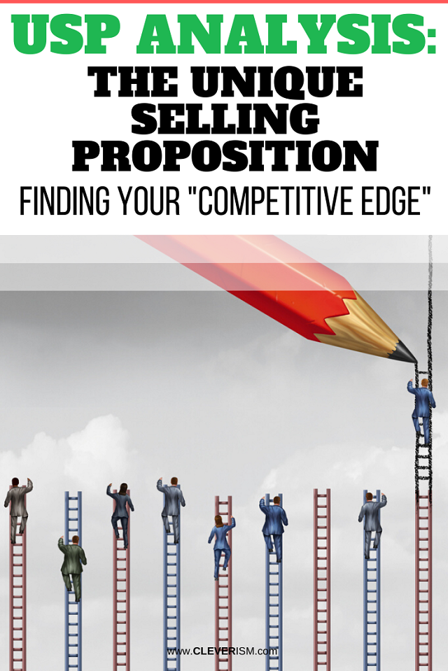 """USP Analysis: The Unique Selling Proposition: Finding Your """"Competitive Edge"""""""