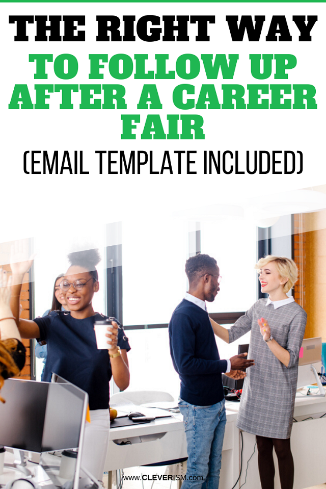The Right Way to Follow Up After a Career Fair (Email Template Included)