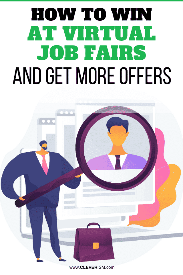 How to Win at Virtual Job Fairs and Get More Offers