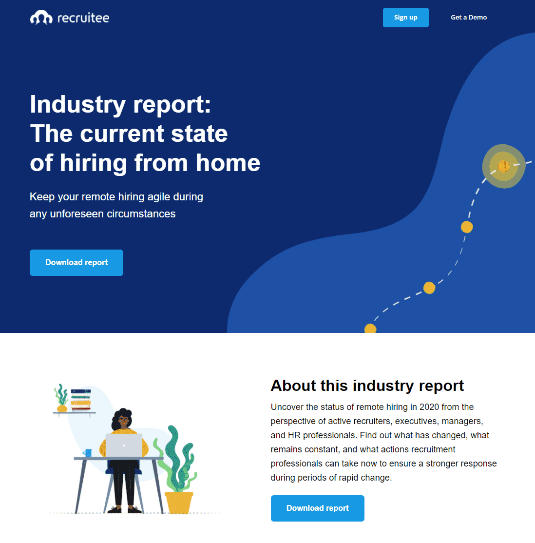 2. Recruitee - Industry report - The current state of hiring from home
